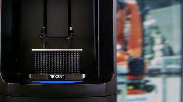 Nexa3D 147 PEEK material