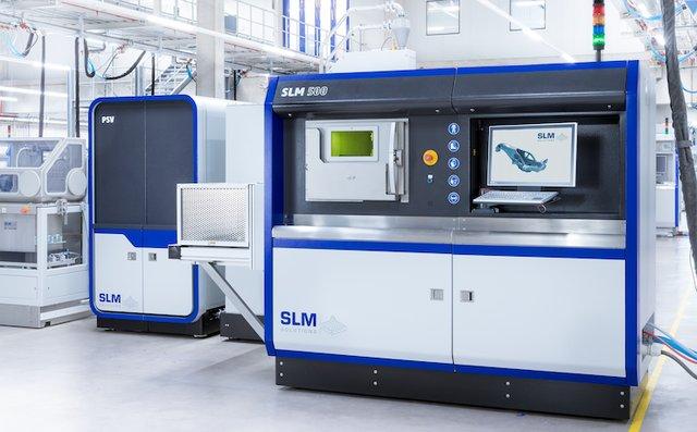 SLM 500 metal AM