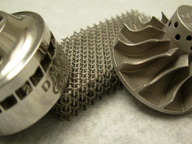 Direct metal laser sintering