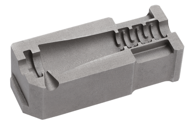 Automotive mould insert printed with Mantle's TrueShape technology.