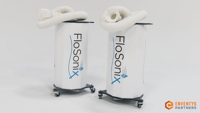 FloSonix head lice treatment Stratasys Origin