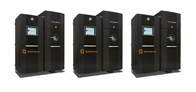 Sintavia A2X Machines GE Additive Arcam