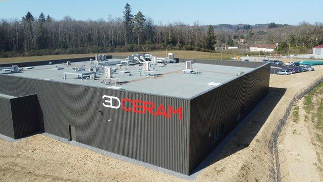 3DCeram new facilities in France