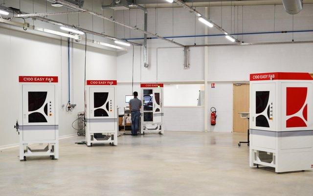 Ceramaker workshop at 3DCeram to develop new printers, now working on multi-material 3D printer.