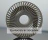 Heat exchanger printed on C900 FLEX by 3DCeram with internal channel in Aluminium Nitride