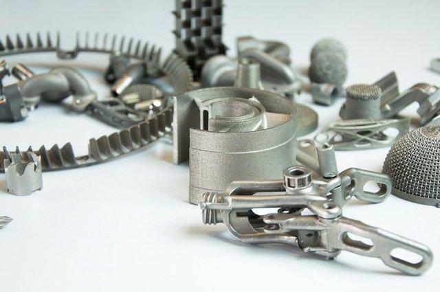 Metal printed parts