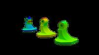 Simufact Additive three phases