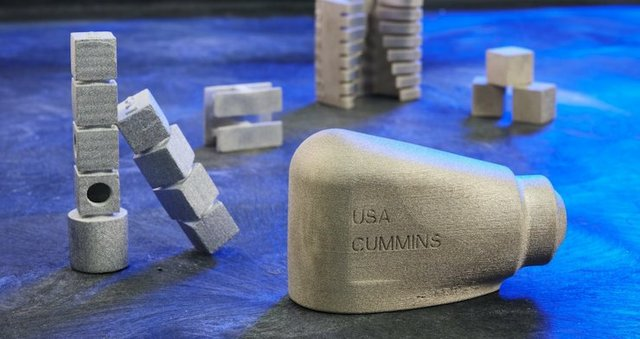 Cummins' first metal binder jet 3D printed part now in final stages of production.jpeg