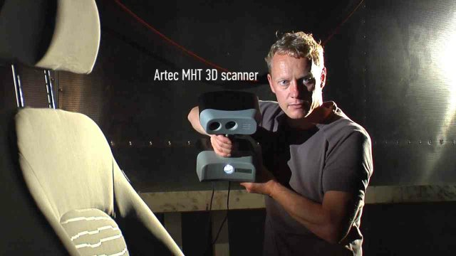 Artec 3D scanning
