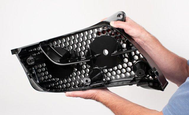 3D Systems Accura AMX Rigid Black 3D printed automotive grill.