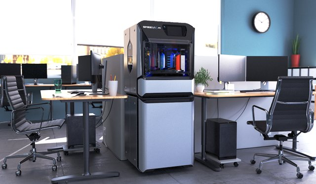 : The Stratasys J55 Prime is office-ready to meet all of your design needs quickly.