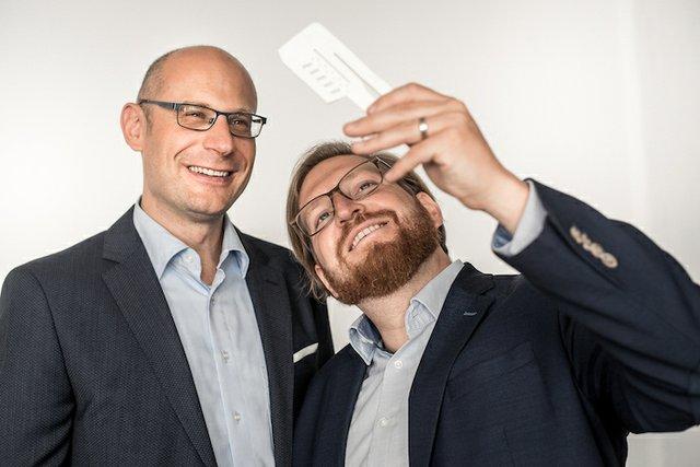 Lithoz CEO Dr Johannes Homa and CTO Dr Johannes Benedikt.