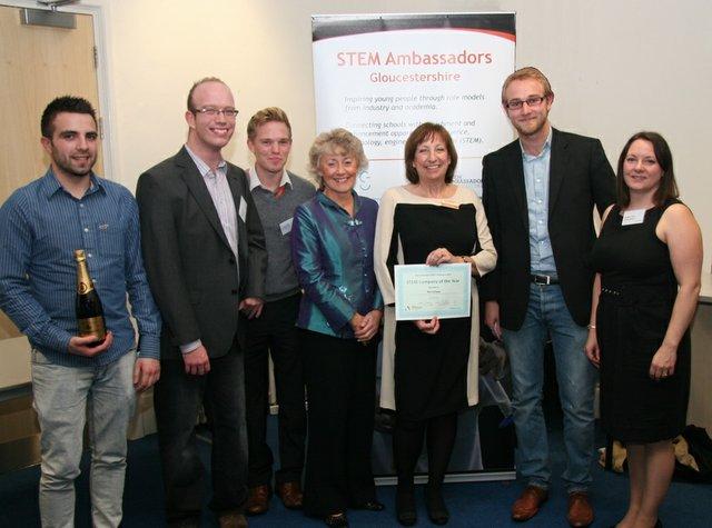 Renishaw Gloucestershire's STEM Company Award