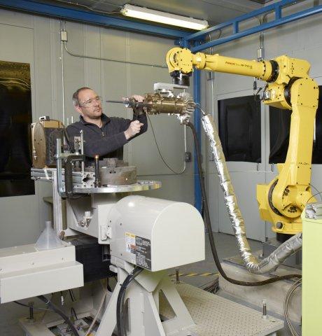 GE Spray additive manufacturing