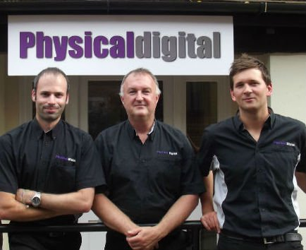 The Physical Digital Team