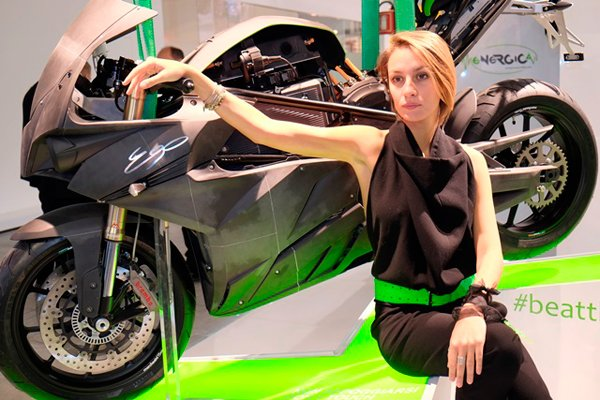 Energica On Stand
