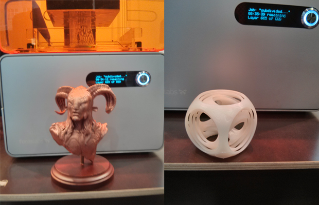 Formlabs stand at Euromold
