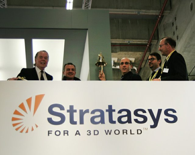 Stratasys and Spring SRL at EuroMold 2013
