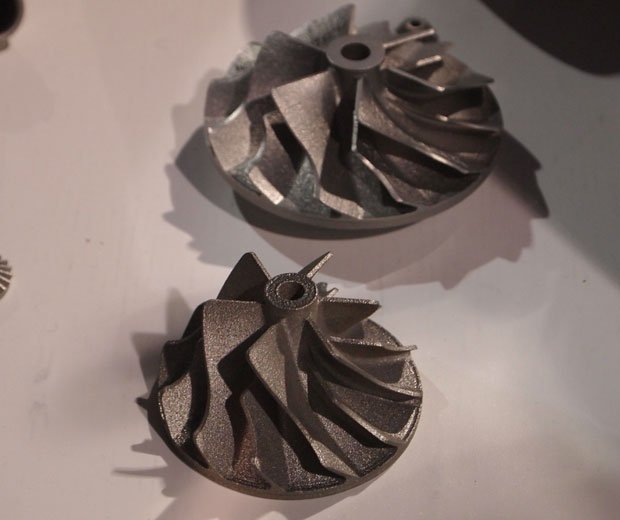 Incodema print real metal working gears