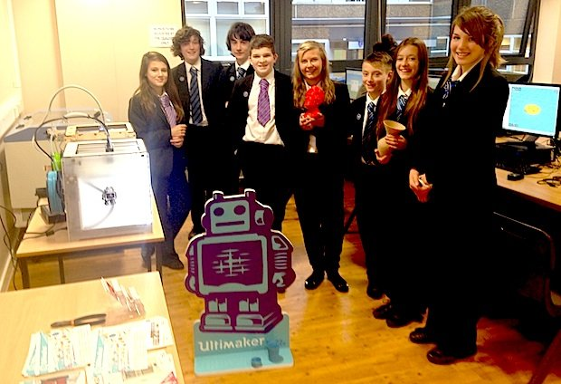 Cleethorpes Academy and their Ultimaker