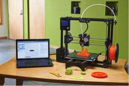 LulzBot TAZ Desktop 3D Printer