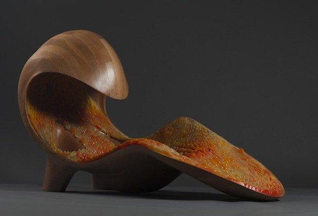 Neri Oxman's Gemini chaise
