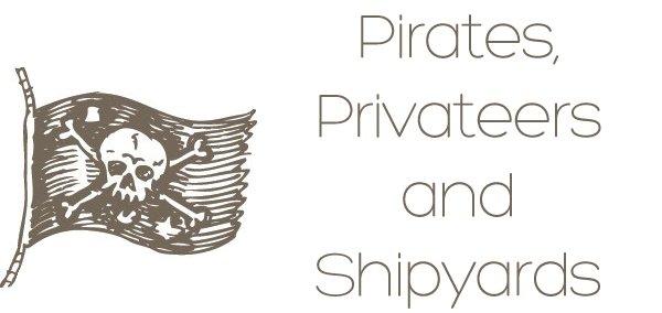 Brown Pirate Flag thin
