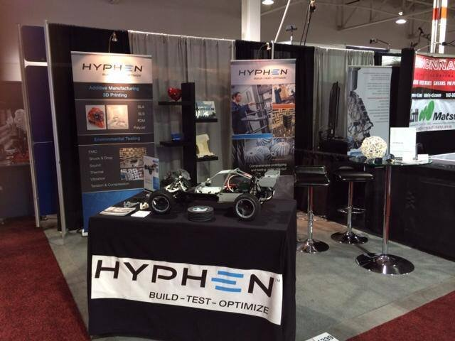 Hyphen booth at Fabtech 2014