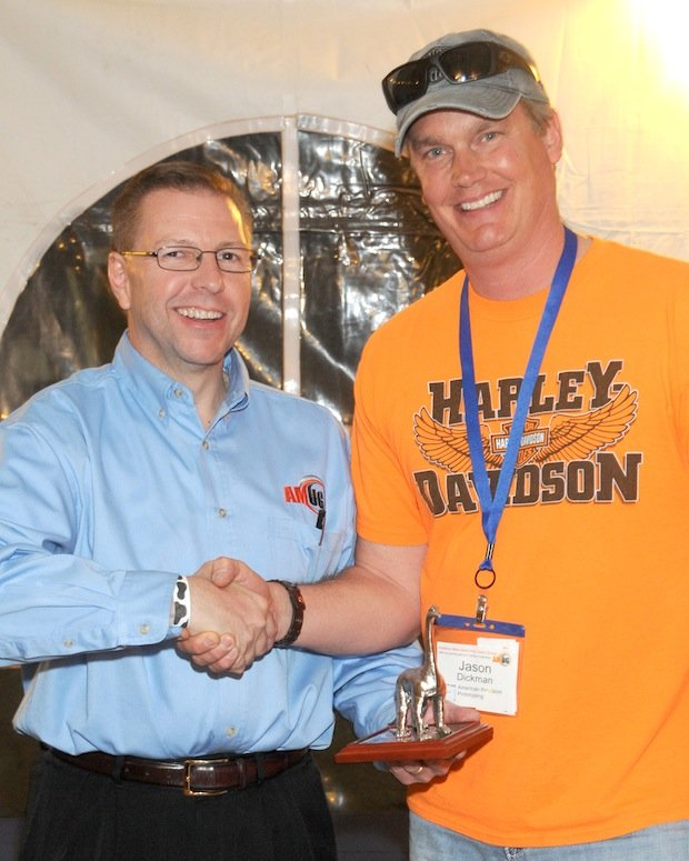 Jason Dickman receives AMUG DINO award