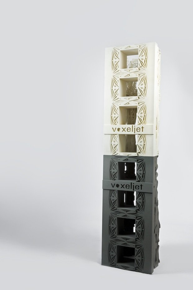 3D-printed column