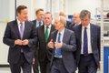 David Cameron at Renishaw