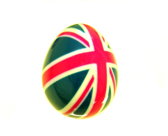 3D printed egg, printed in colour on the Objet500 Connex3 system