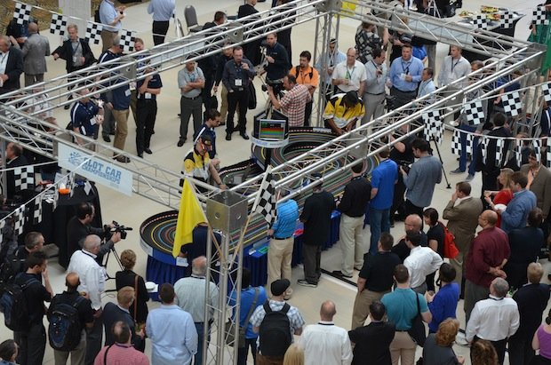 Materialise Slot Car Races