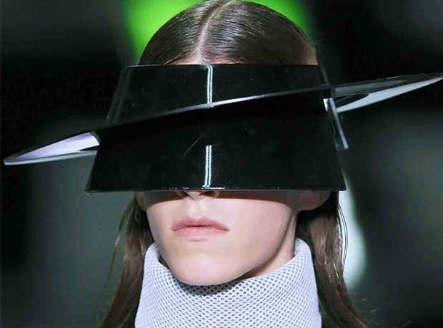 Kay Kwok Visors (photo courtesy of Vogue)