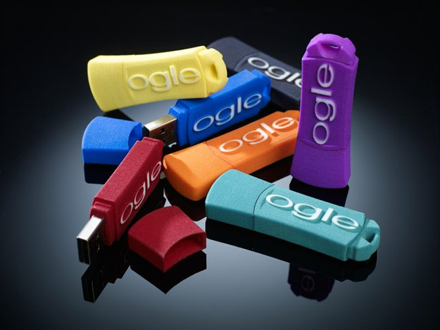 Vibrant colour range for SLS parts.