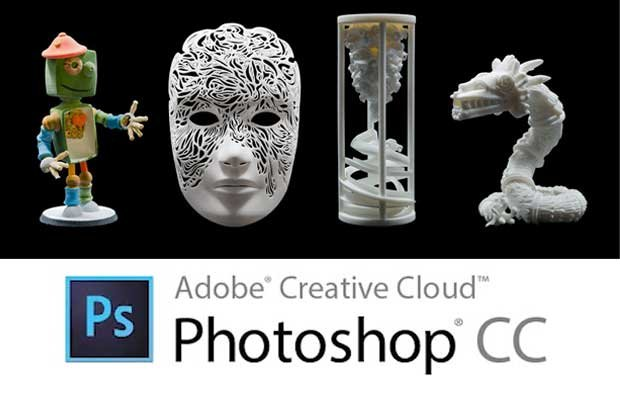 Photoshop's 3D Printing