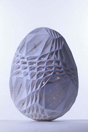 Eos 3D Printed Egg 300