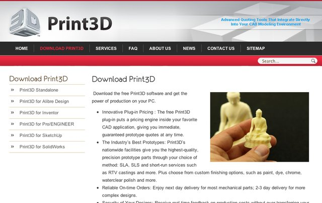 Print3D Screen Shot