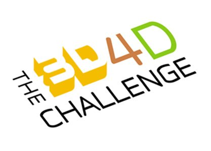 3D4D Challenge Logo