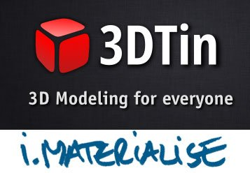 3DTin and i.materialise Competition