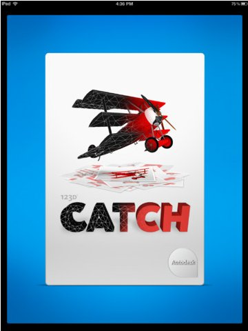 Autodesk 123D Catch for iPad