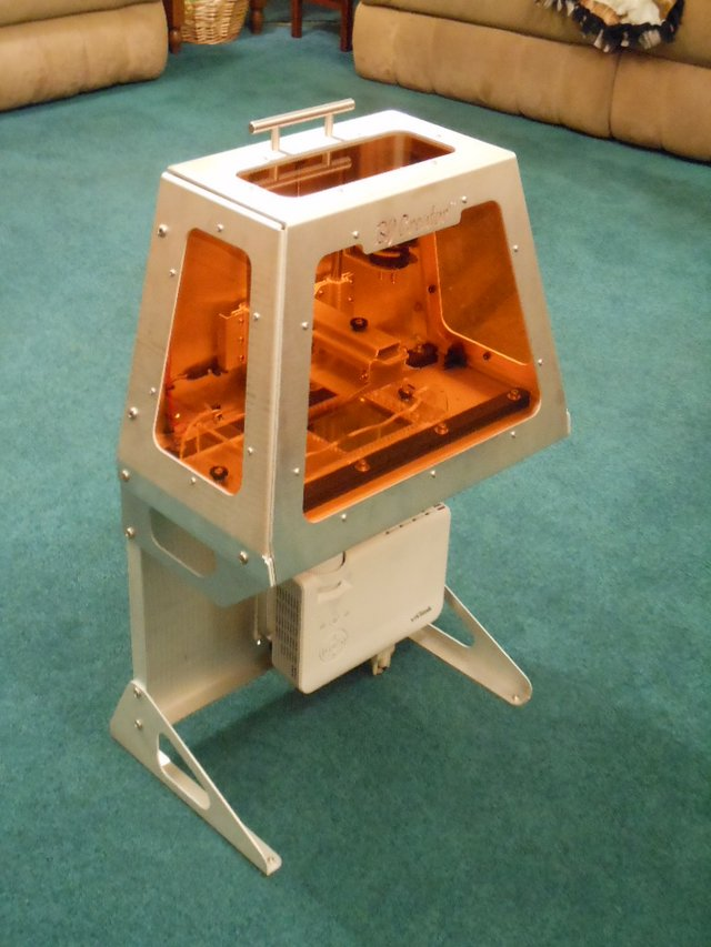 B9Creator high-resolution 3D printer