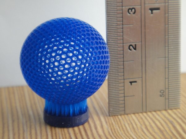 MiiCraft 3D printed intricate sphere