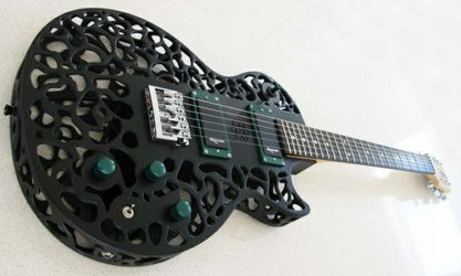 Diegel Guitar Sideways