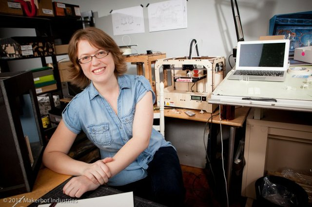 Kacie MakerBot Broadway