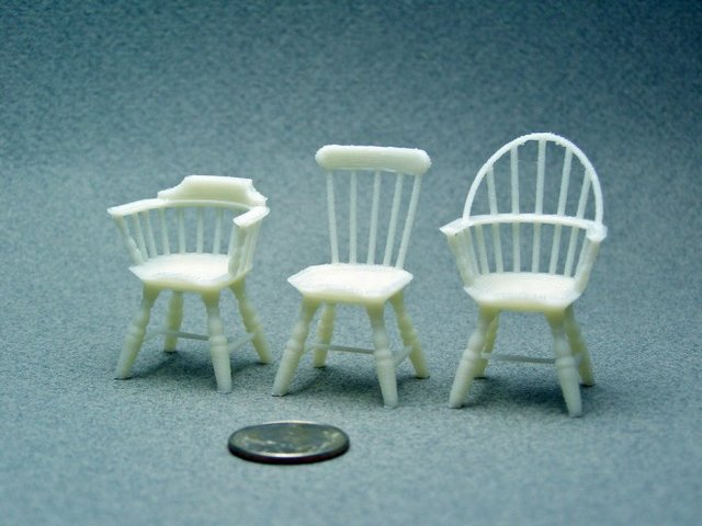 Queen Anne Chairs Broadway Makerbot
