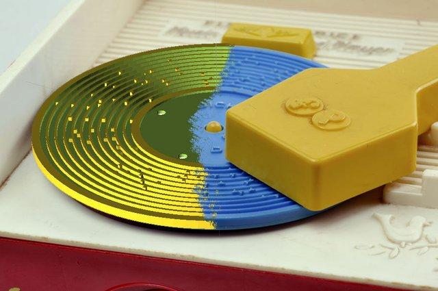 Fisher Price 3D Printed 'Vinyls'