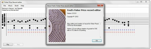 Fisher Price Record editor