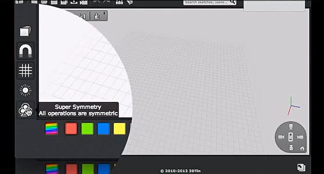 3DTin Super Symmetry