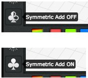3DTin Symmetry on/off